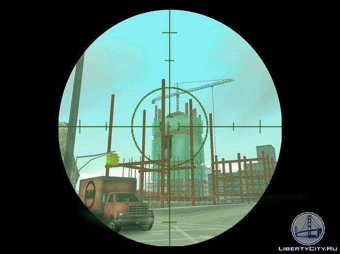 Снайперка в GTA 3
