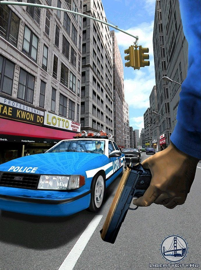 Арт из GTA 3