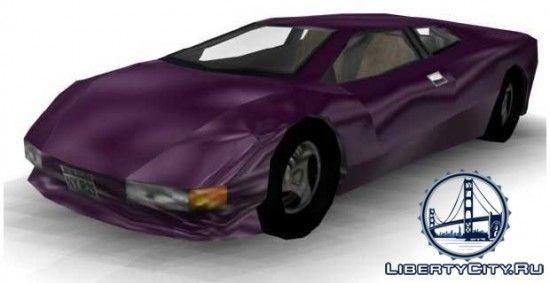 Автомобиль GTA 3