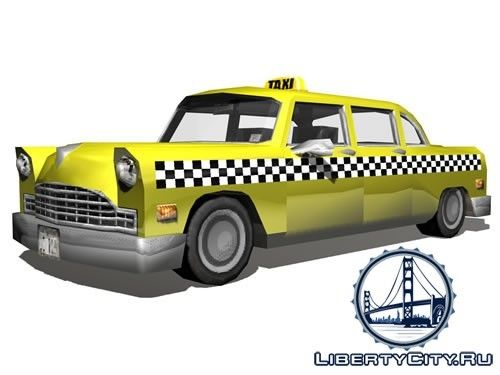 Такси GTA 3