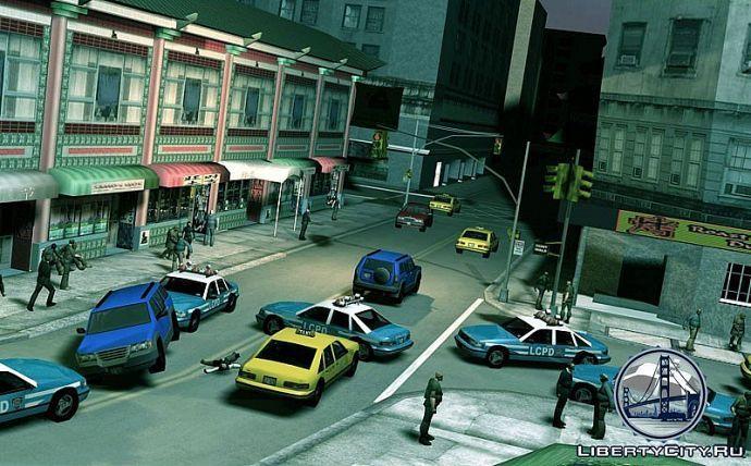 GTA 3 в редакторе