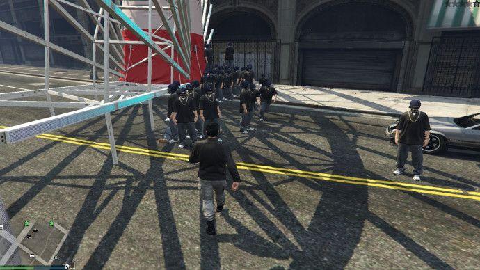 Сойти с ума в GTA 5 online