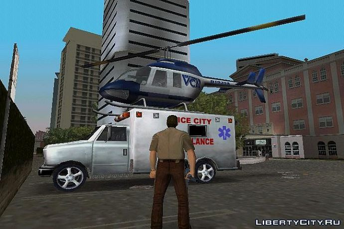 Вертолет на скорой
