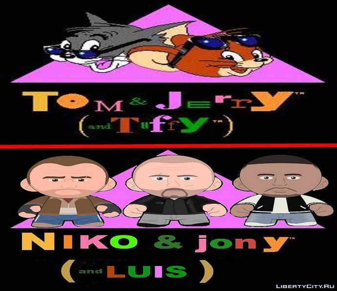 niko & jony and luis