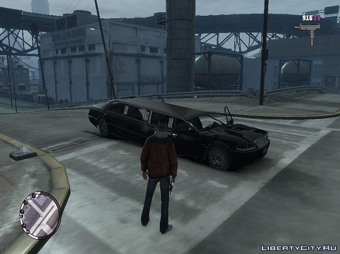 Бедный лимузин...
