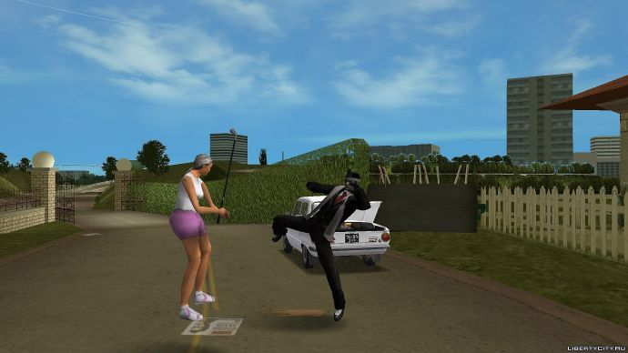 Разборки в гольф-клубе