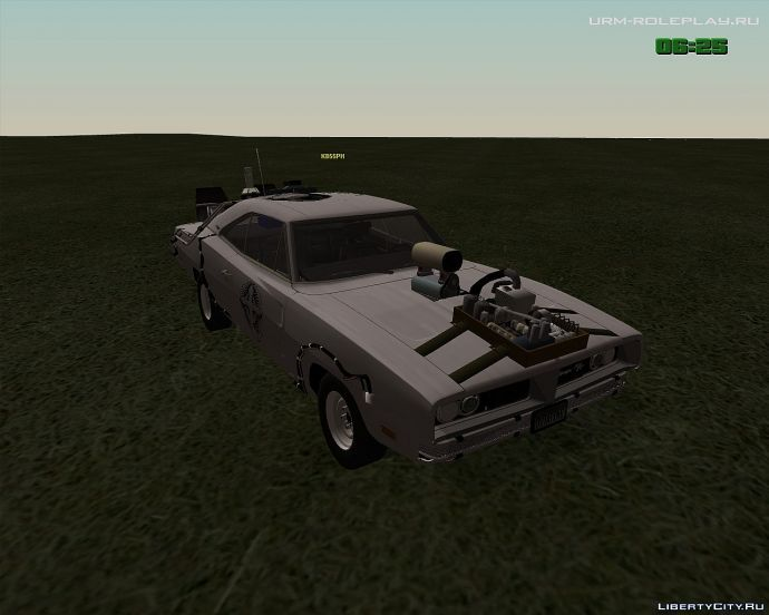 Dodge Charger + Delorean = ?