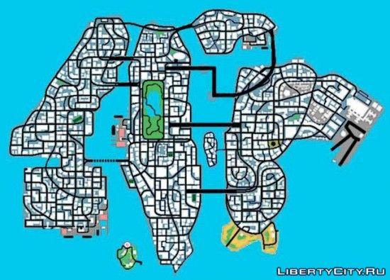 Карта gta 4