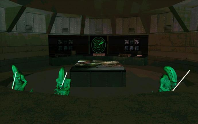 Пришельцы захватили базу