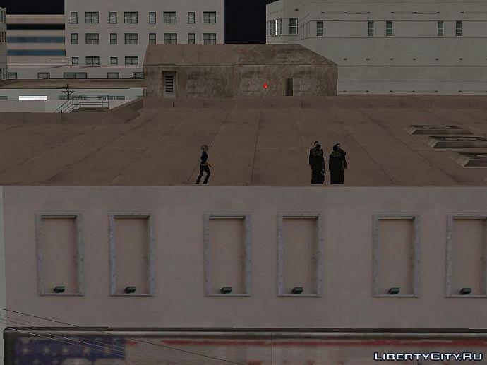 Братки на крыше (это San Vice)