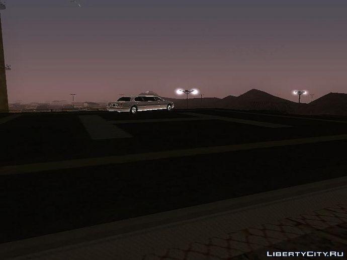 Летающий лимузин.