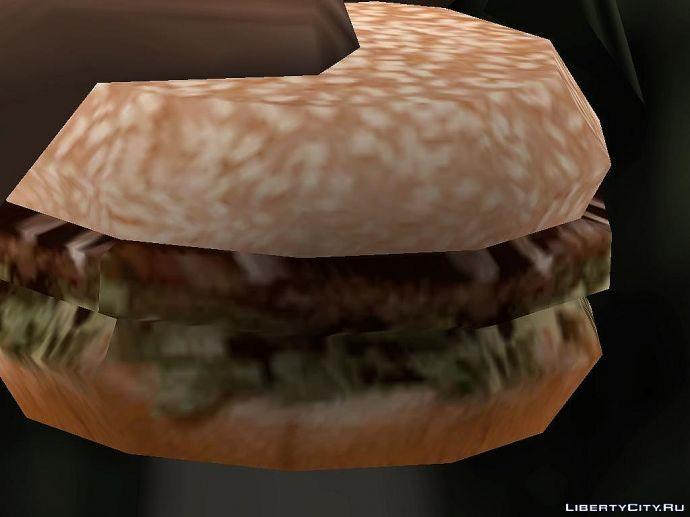 Бургер с плесенью