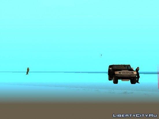 Машина в воздухе