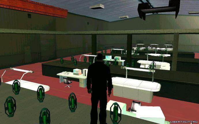 Секретный штаб Санты