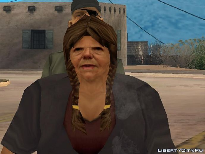 Бабушка с чернобыля