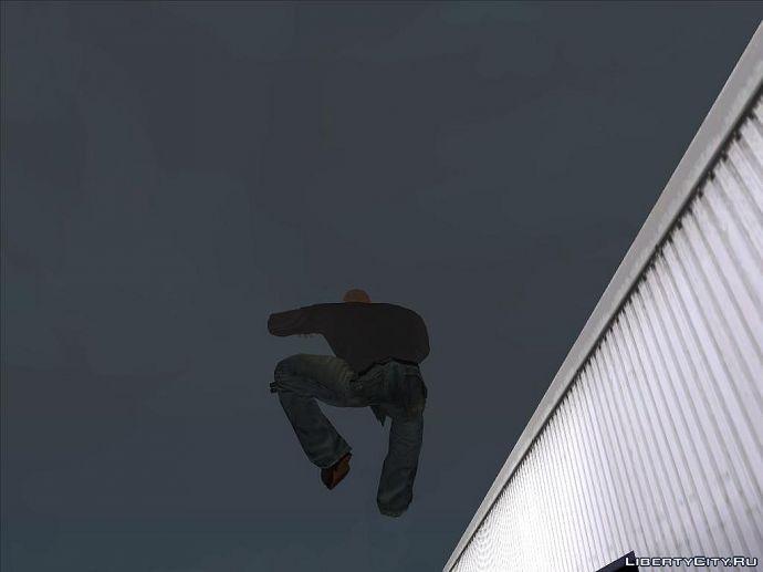 Ну и прыжок