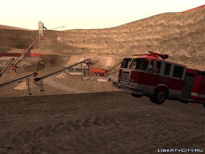 пожарные работают где придется
