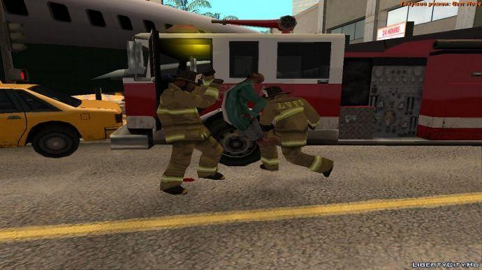Суровые пожарные!
