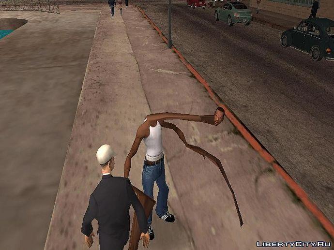 Как мутант из Dead rising 2 оказался в GTA