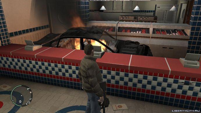 Как жарят бургеры.