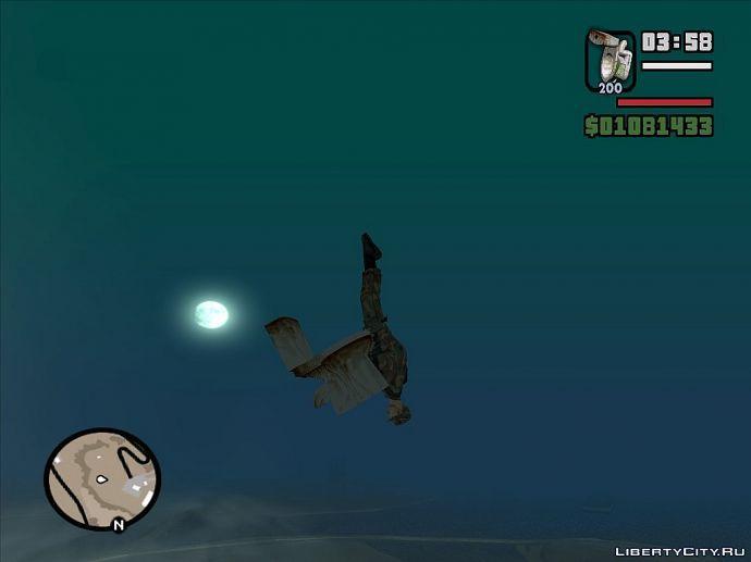Первый прыжок десантника