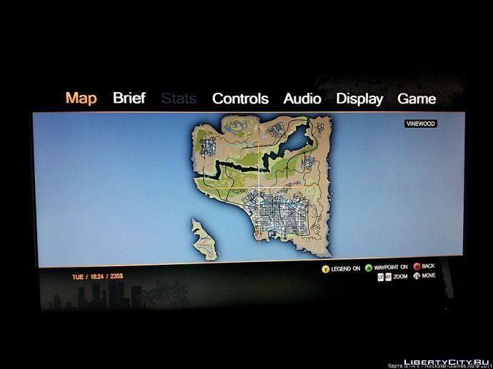 Карта GTA V??