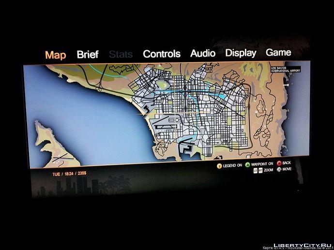 Карта Лос Сантоса??