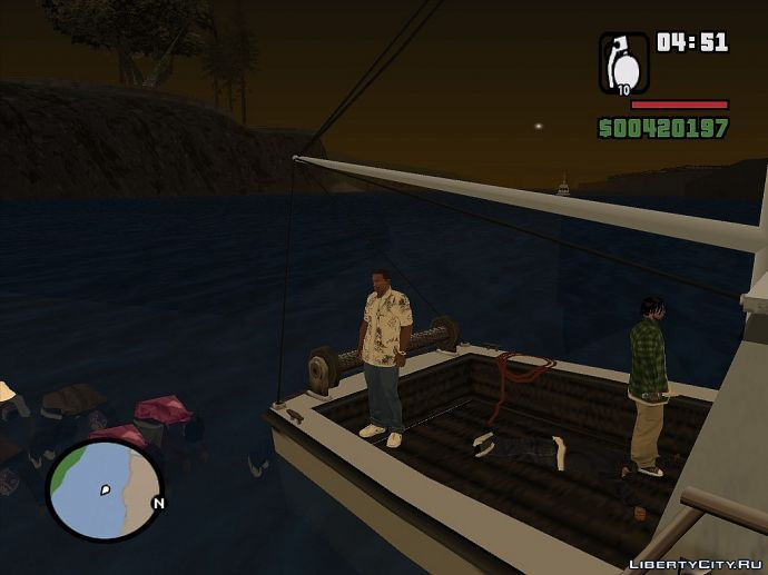 Сиджей на рыбалке