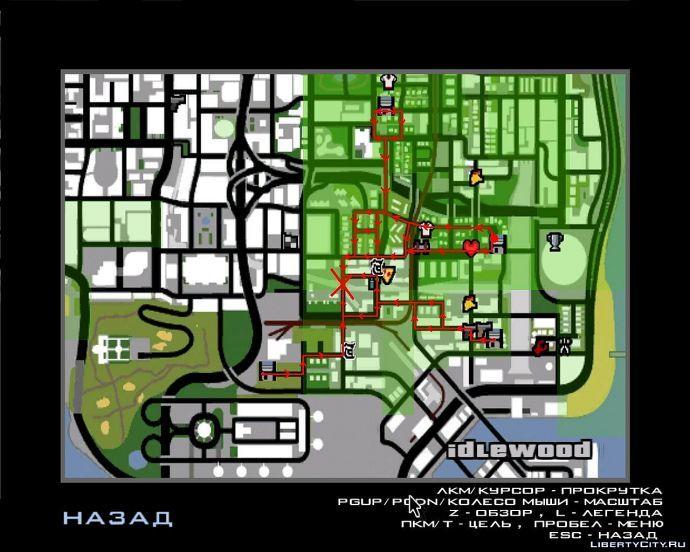 Карта проводов