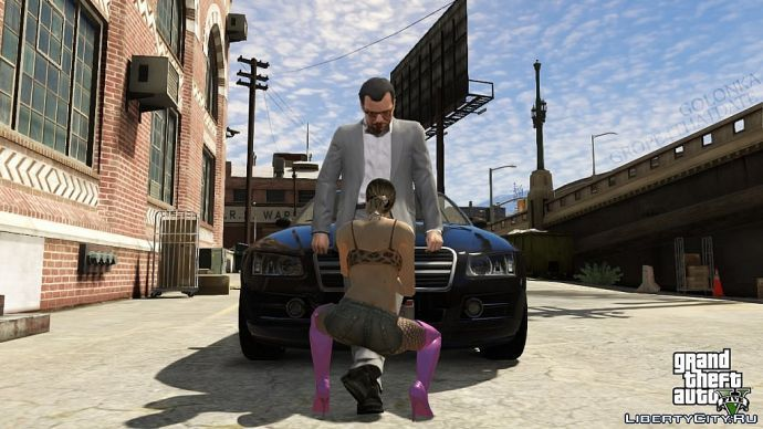 Майкл и проститутка
