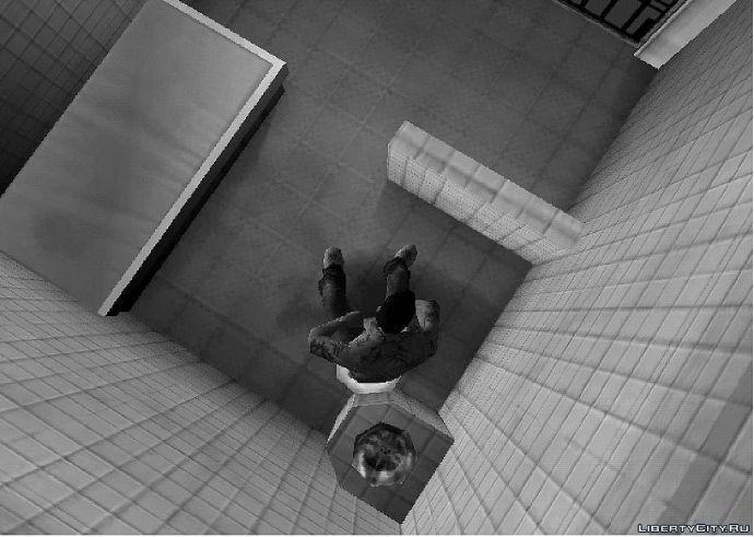 Вид тюремной видеокамеры