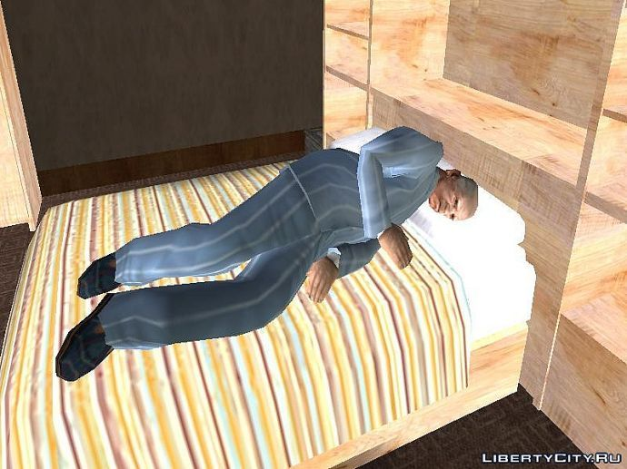 Спит с открытыми глазами