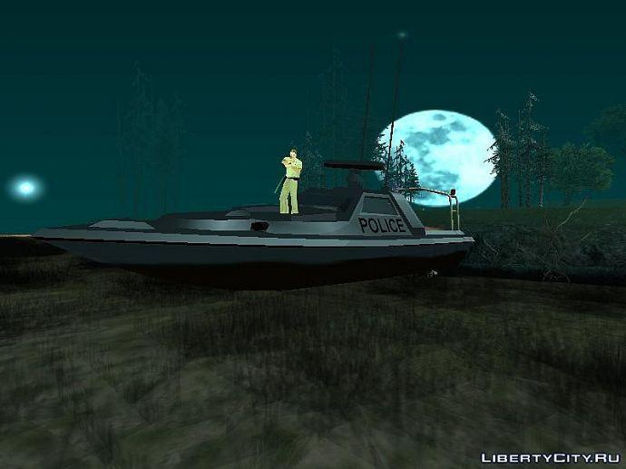Сухопутная лодка.