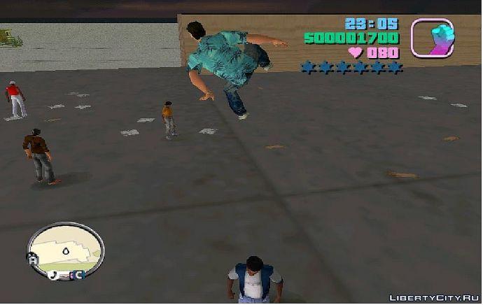 Мощный прыжок