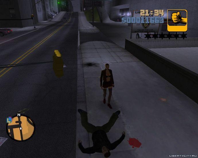 Клода убила проститутка.