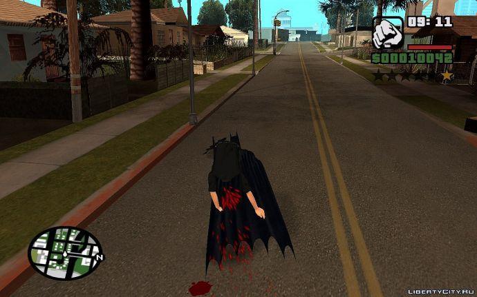 Бетмэн спасает полицейского