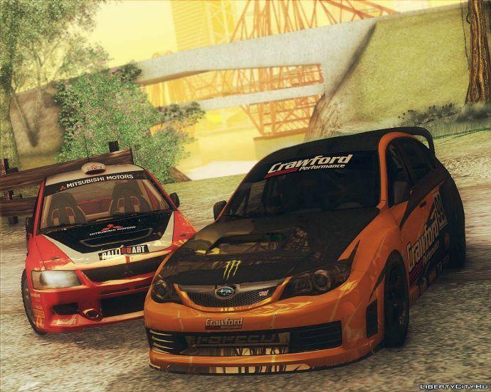 Mitsubishi and Subaru