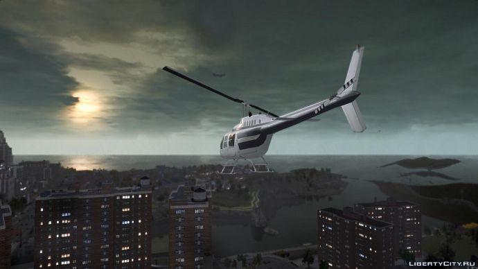 Вертолёт над Олдерни