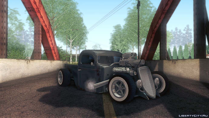 1936 Ford Pickup Ratrod