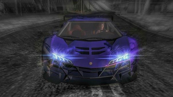 На быстрой машине