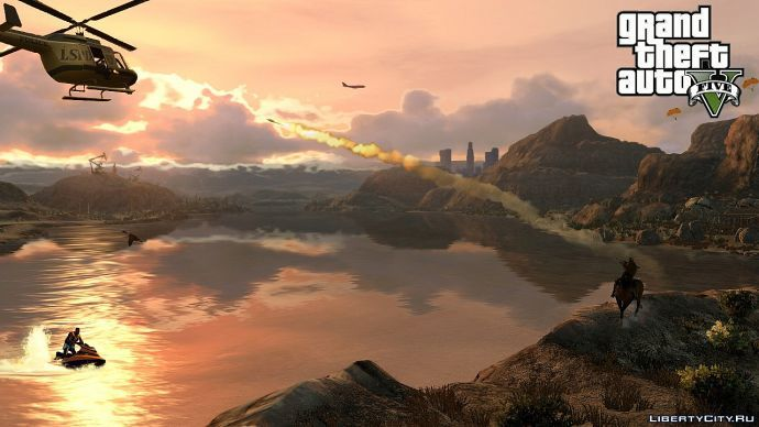 Погоня в GTA 5