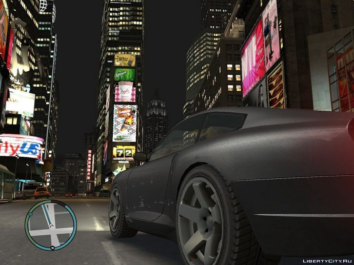 GTA IV Time-Square