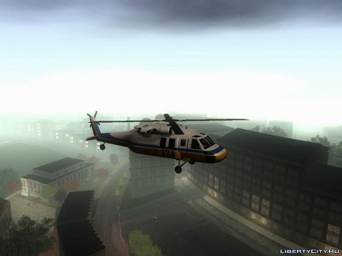Вертолёт над Сан Франциско
