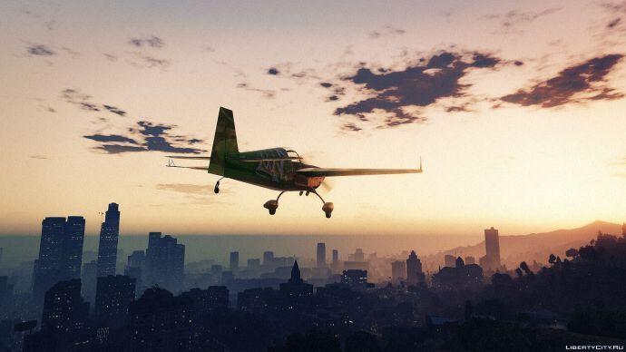 Вечерний полет