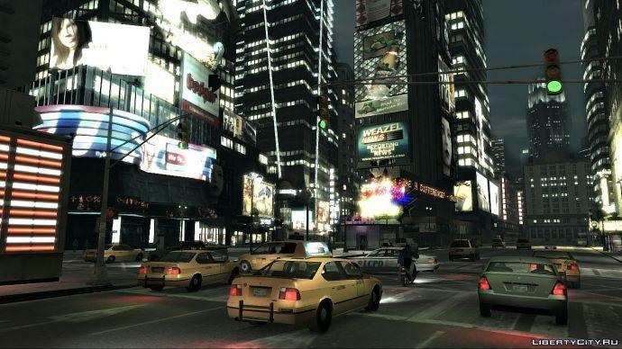 Ночной Liberty-City