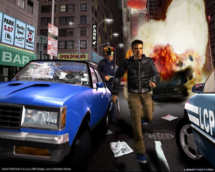 Клевый арт GTA 3