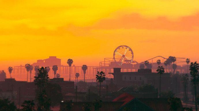 Вечерний Лос Сантос