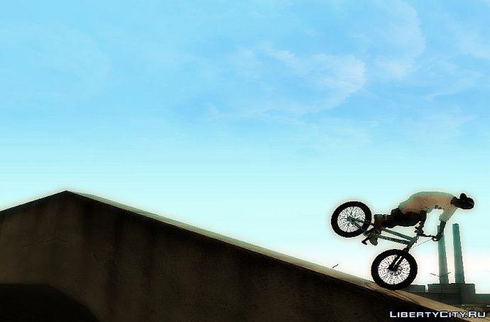 On Bike...6