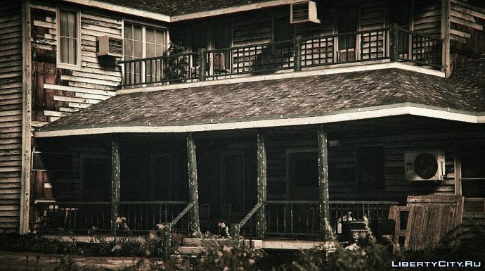 SNAPMATIX GTA 5. Старый дом