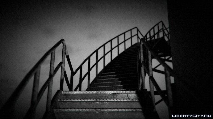 SNAPMATIX GTA 5. Лестница в...